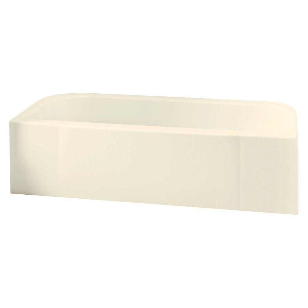 STERLING Accord 5 ft. Left Drain Rectangular Alcove Soaking Tub in ...