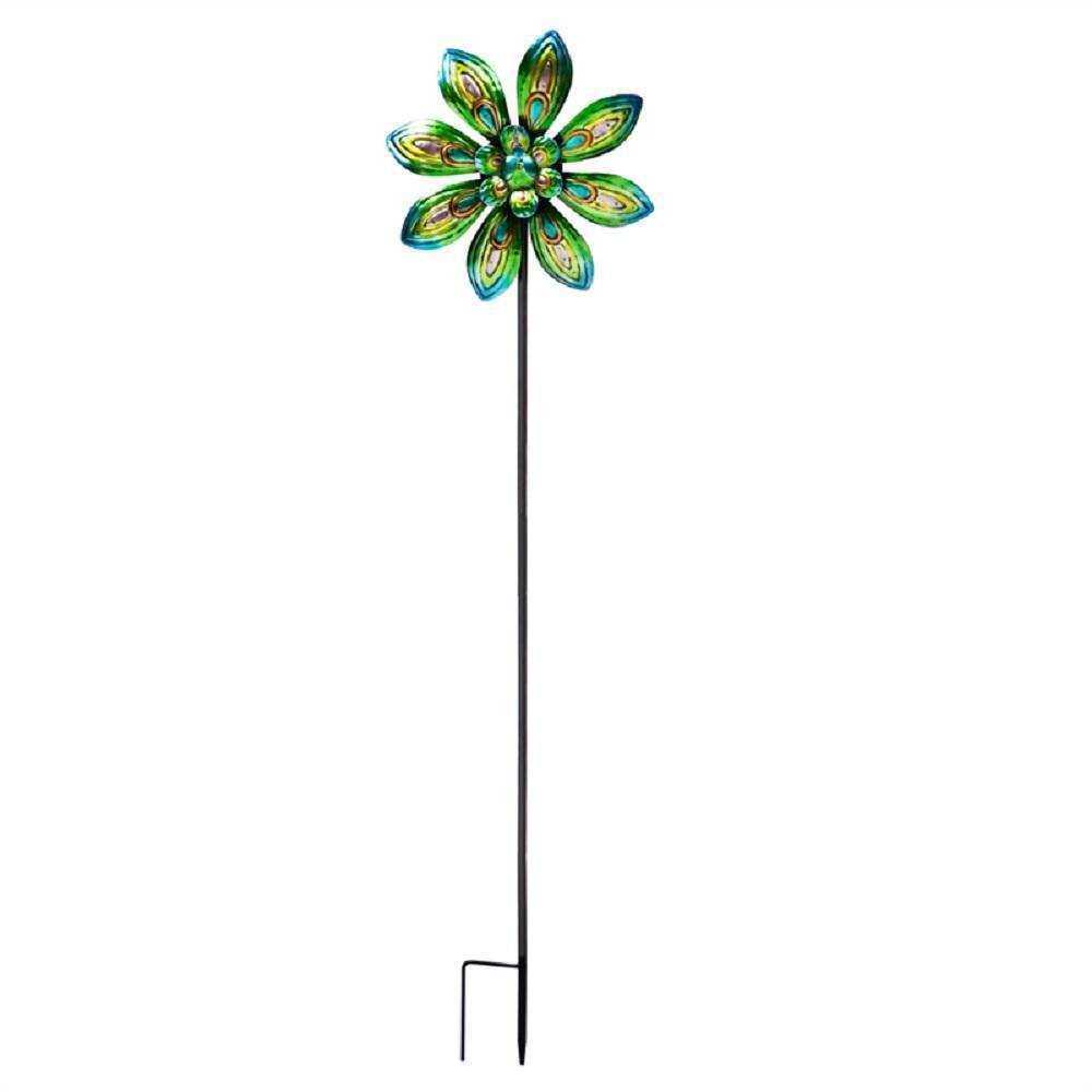 Peacock 4 ft. Wind Spinner