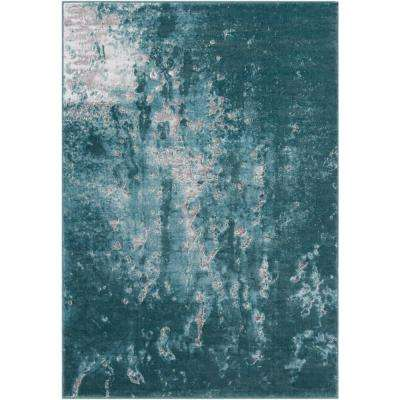 Neptune Teal 8 ft. x 11 ft. Indoor Area Rug