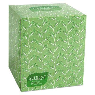 Surpass Facial Tissue 2-Ply (110-Count)