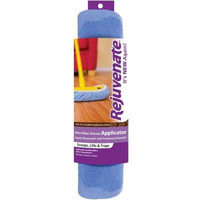 Microfiber Bonnet Applicator Wet Mop Pad Refill (3-Pack)