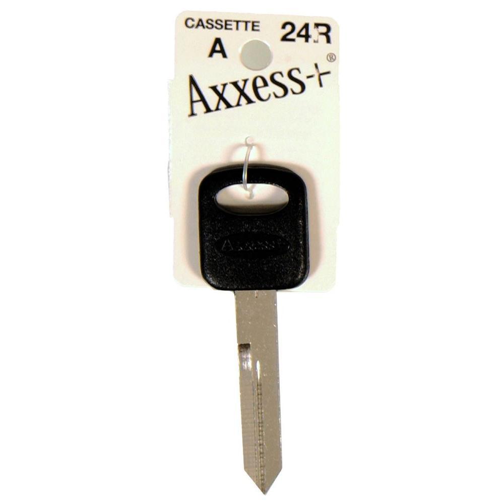 axxess   24r blank ford motor company key-87016 0