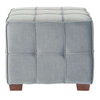 Incredible Art Deco Gray Fabric Ottomans Living Room Furniture Alphanode Cool Chair Designs And Ideas Alphanodeonline