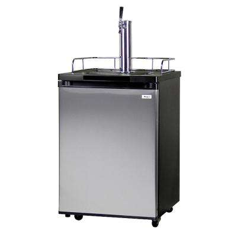 Homebrew 1 Tap Full Size Beer Keg Dispenser with Homebrew Dispense Kit