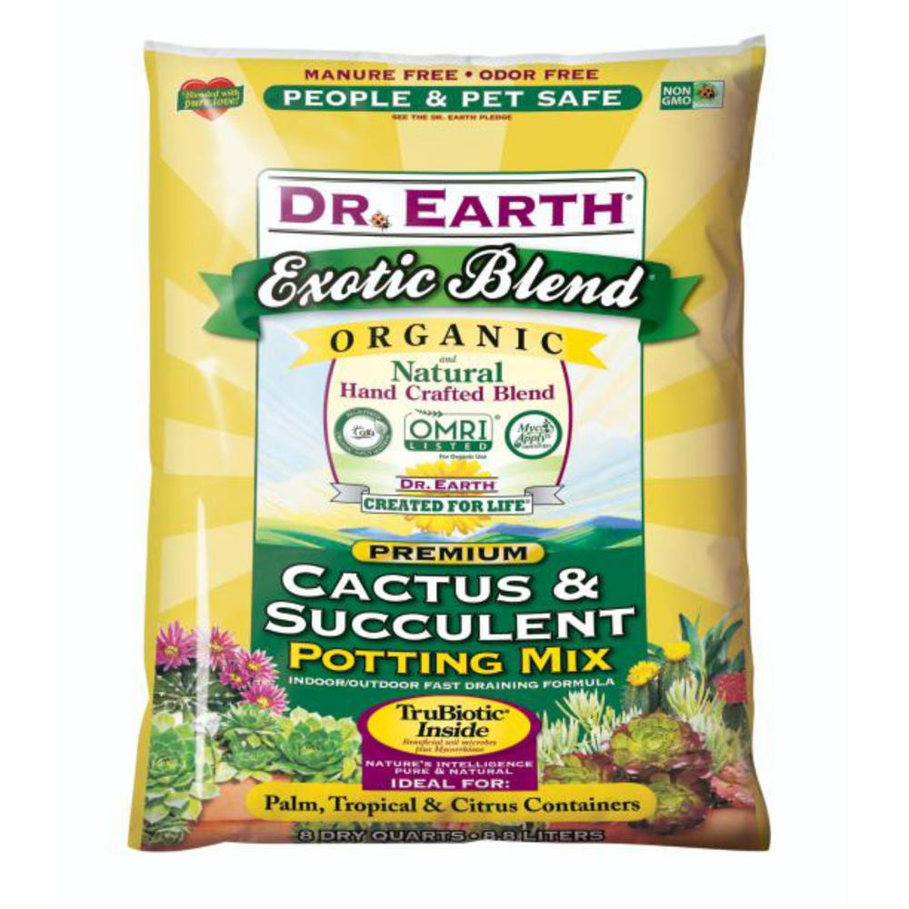 8 Qt. Exotic Blend Cactus and Succulent Potting Mix
