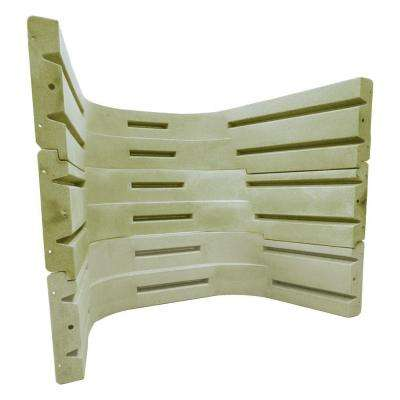 6700 091 Sandstone Window Well (3-Pieces)