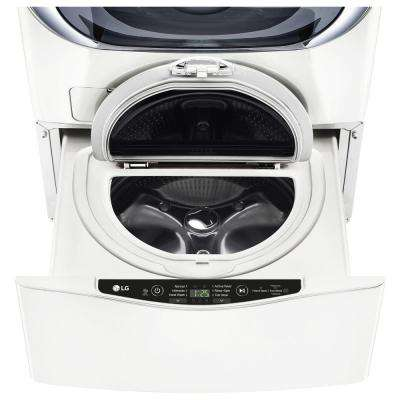 27 in. 1.0 cu. ft. SideKick Pedestal Washer in White