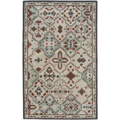 Mtn. Home Natural 7 ft. x 9 ft. Area Rug