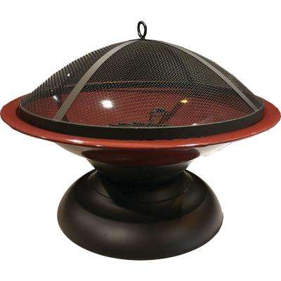 Fire Bowl Vesta Oxblood