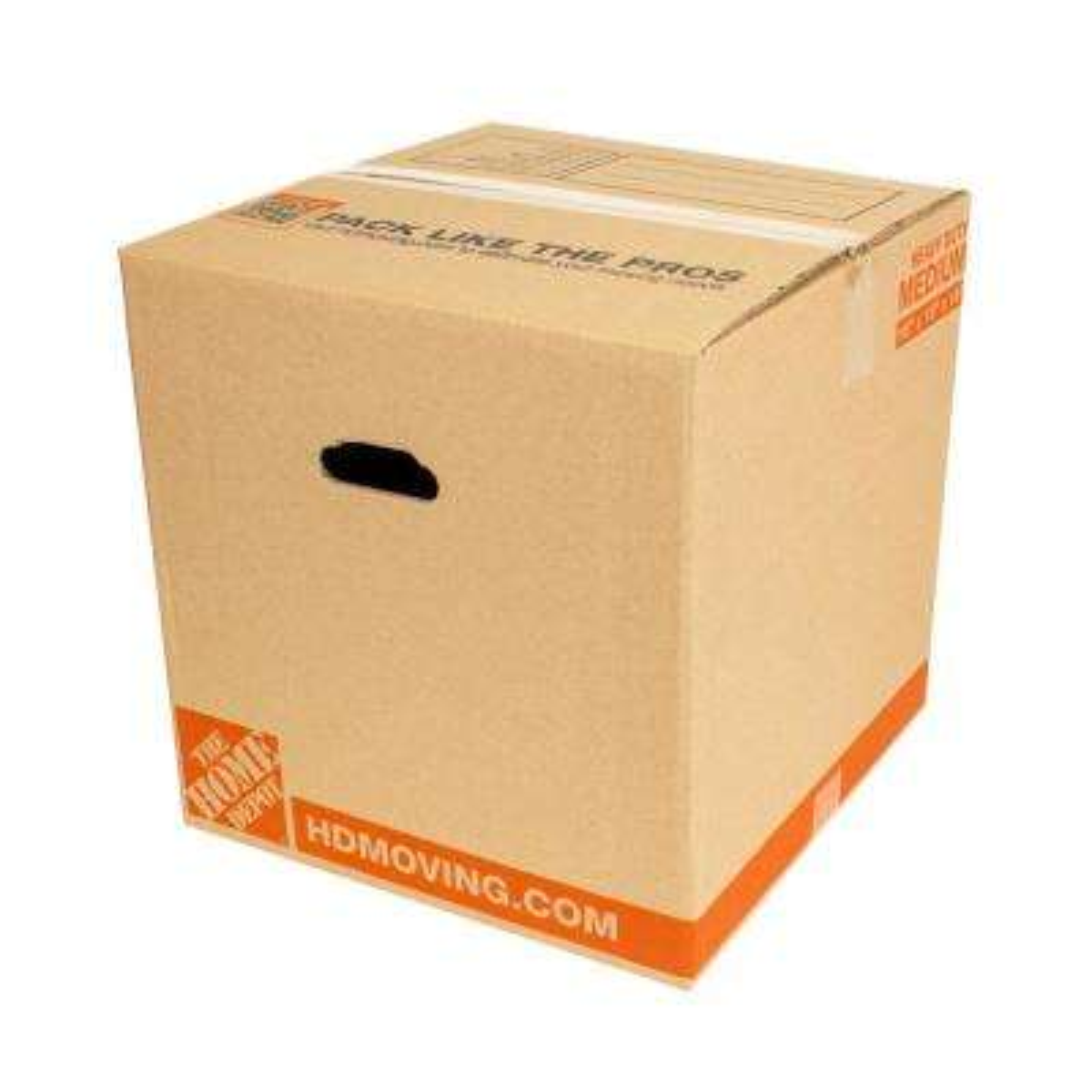 16 in. L x 16 in. W x 16 in. D Heavy-Duty Moving Box (10-Pack)