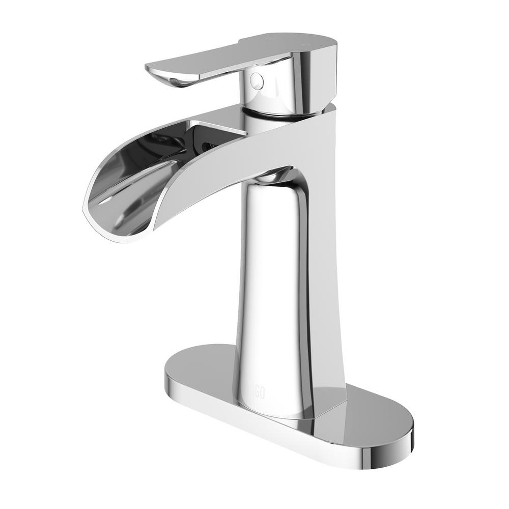 Vigo Paloma Single Hole Single Handle Bathroom Faucet With