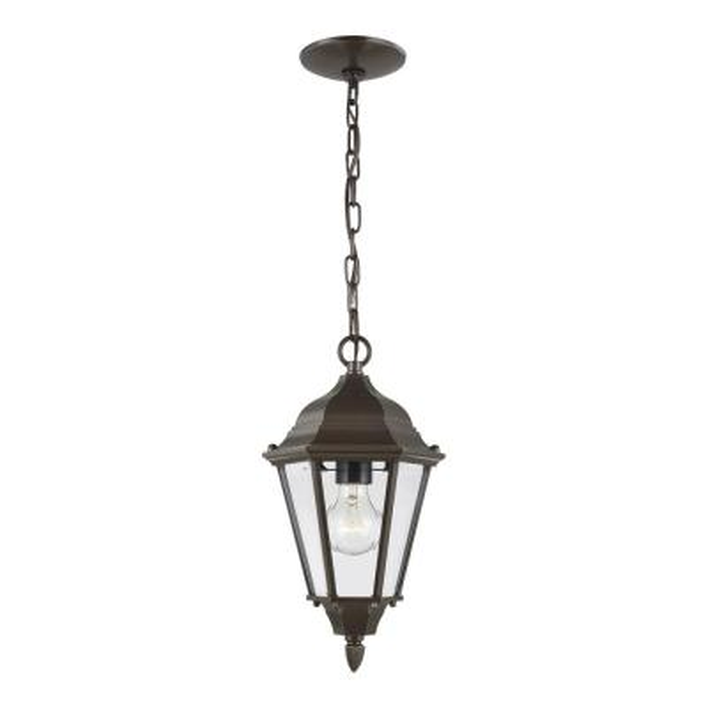 Bakersville 1-Light Heirloom Bronze Outdoor Pendant Light