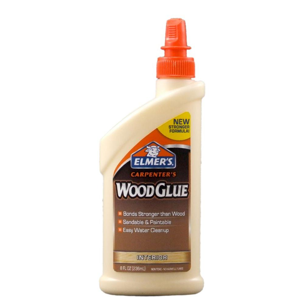 Elmer\'s 8 oz. Carpenter\'s Wood Glue-E7010 - The Home Depot