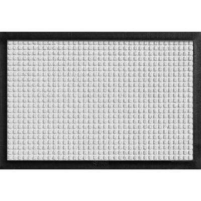 Aqua Shield with Rubber Border White 17.5 in. x 26.5 in. Pet Mat