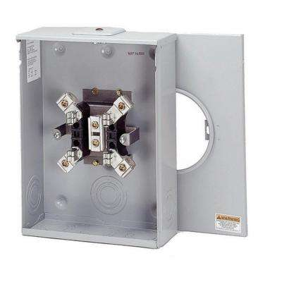 200 Amp Ring Type Single Meter Socket (OH/UG, HL and P/Reliant Approved)