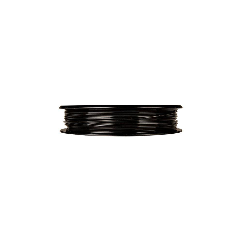 0.5 lbs. Small True Black PLA Filament