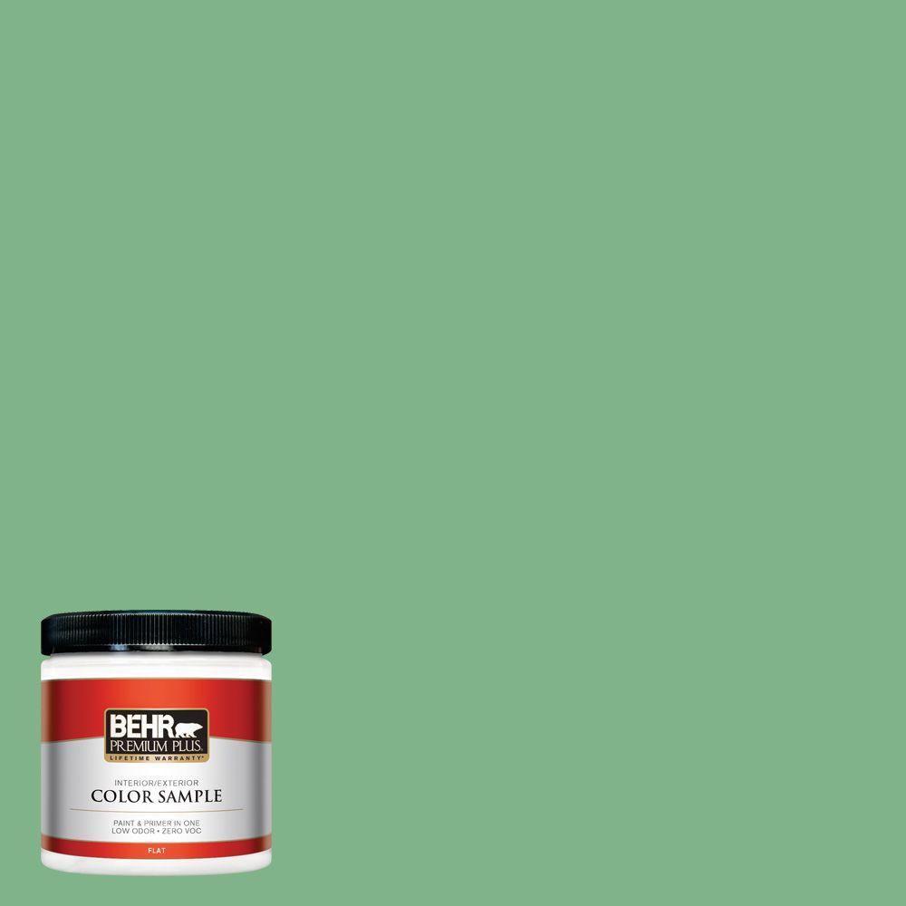 8 oz. #460D-5 Tree Fern Interior/Exterior Paint Sample