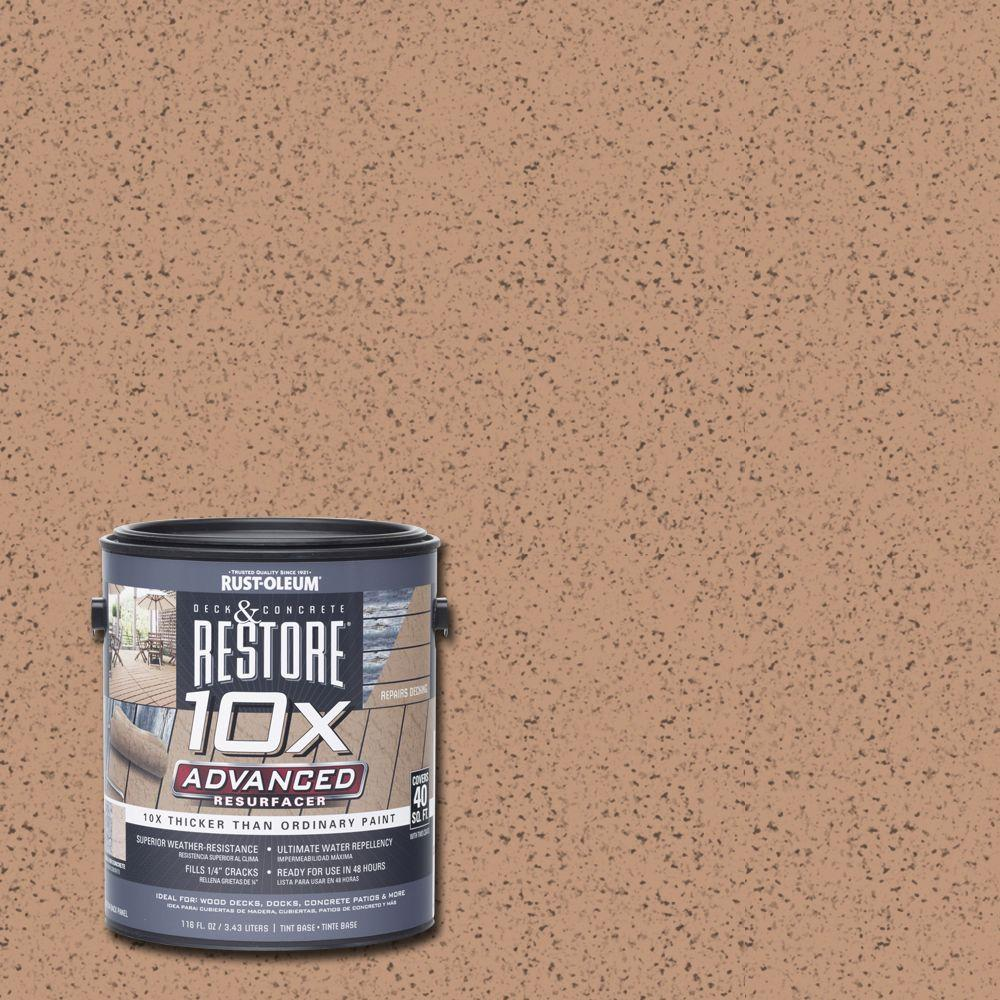 1 gal. 10X Advanced Buckskin Deck and Concrete Resurfacer