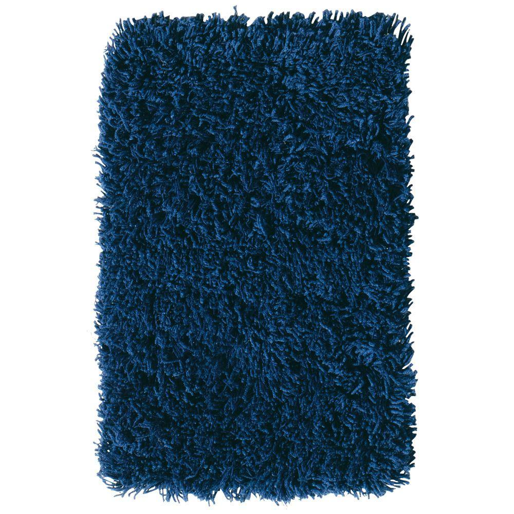 Home decorators collection ultimate shag blue 9 ft x 12 for Home decorators rugs blue