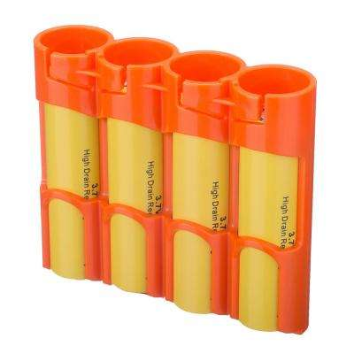 18650 4-Pack Battery Organizer and Dispenser
