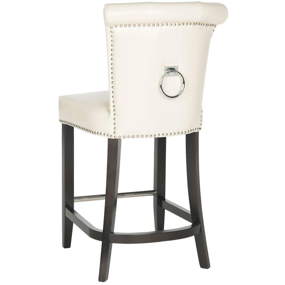 Strange Safavieh Addo 25 7 In Flat Cream Cushioned Bar Stool Creativecarmelina Interior Chair Design Creativecarmelinacom