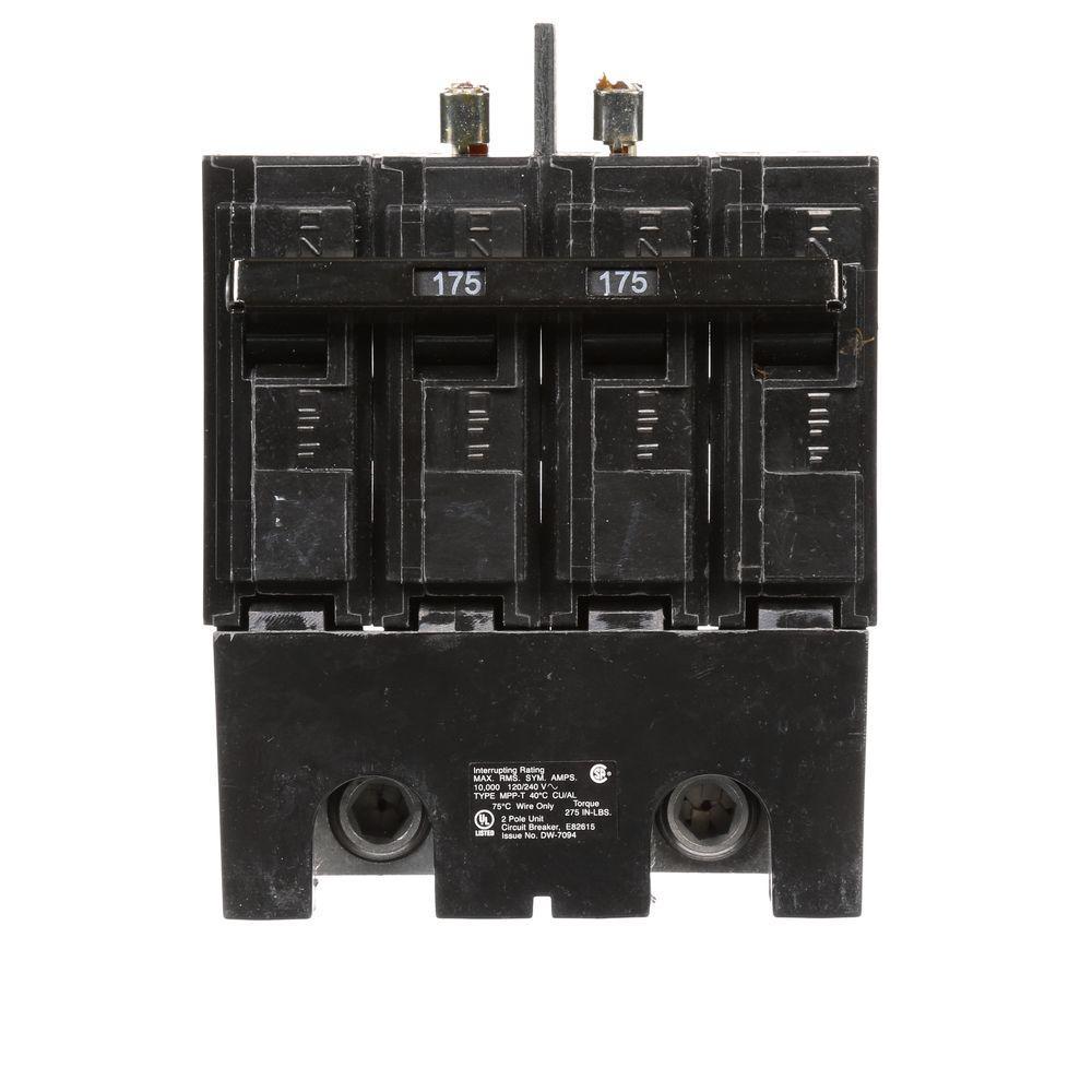 175 Amp 2-Pole 10 kA Type MPP Main Breaker