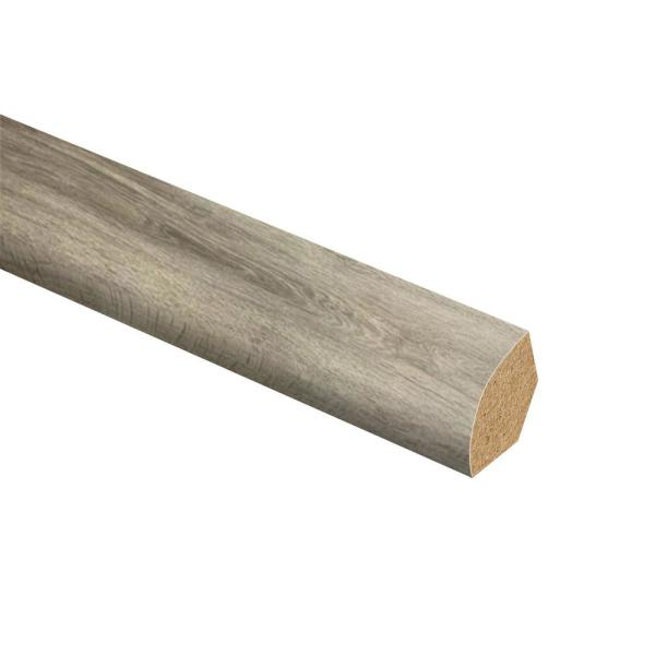 Zamma Biscayne Oak 5 8 In Thick X 3 4 In Wide X 94 In L Vinyl Quarter Round Molding 015143873 The Home Depot