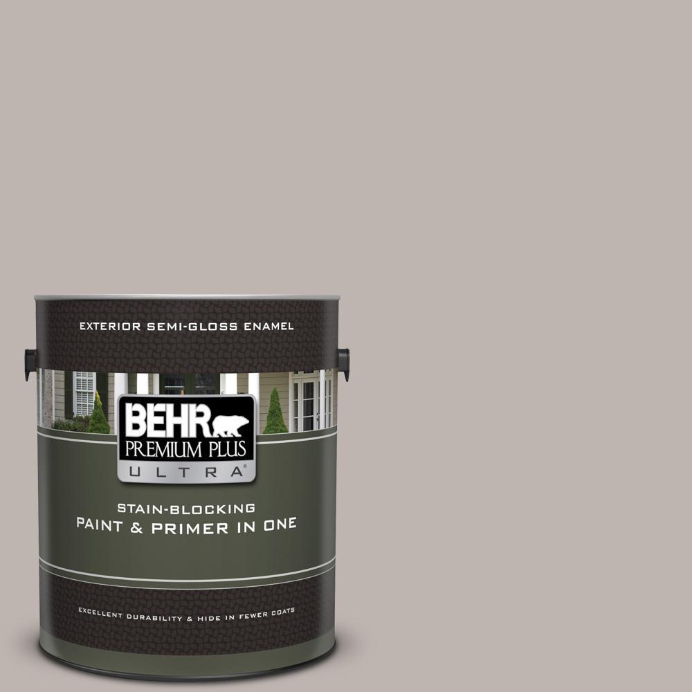 Behr Premium Plus Ultra 1 Gal Ul260 10 Graceful Gray Semi Gloss