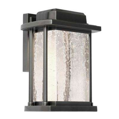 1-Light Slate Outdoor Wall Mount Sconce