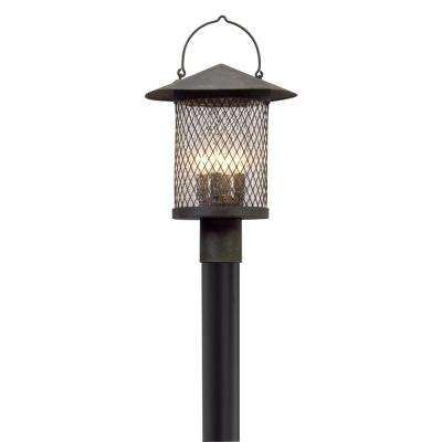 Altamont 4-Light Outdoor French Iron Post Light