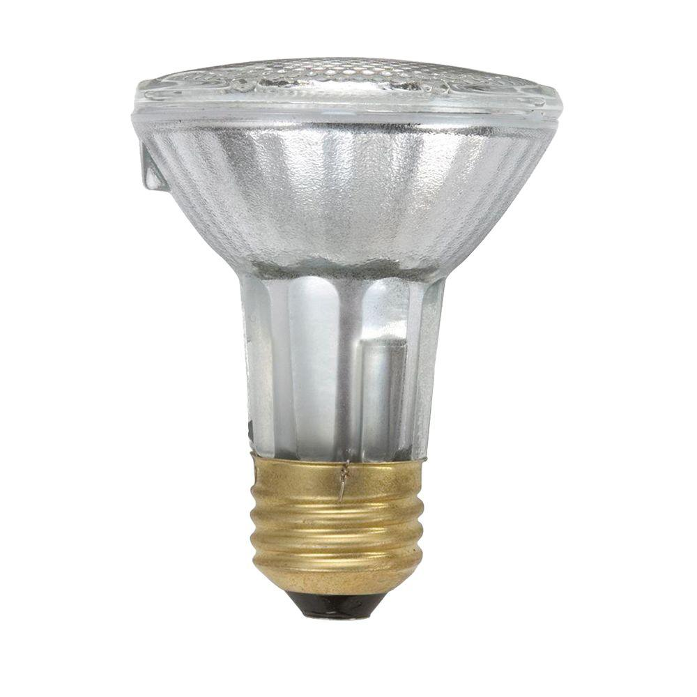 50W Equivalent Halogen PAR20 Indoor/Outdoor Flood Light Bulb (24-Pack)