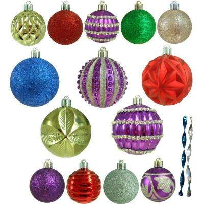 Shatter-Resistant Assorted Ornament (100-Count)