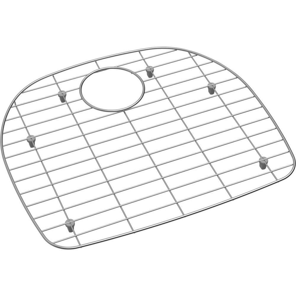 Dayton 18.25 in. x 16.0625 in. Bottom Grid for Kitchen Sink in Stainless Steel