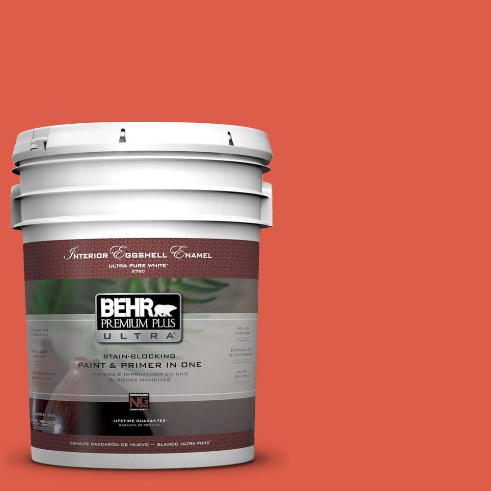 BEHR Premium Plus Ultra 5-gal. #P180-6 Pimento Eggshell Enamel Interior Paint