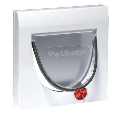 6-1/4 in. x 5-1/2 in. Cat Flap 4-Way with Tunnel