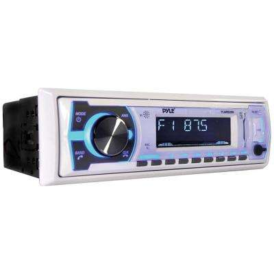 Digital Marine Stereo Receiver with Bluetooth in White