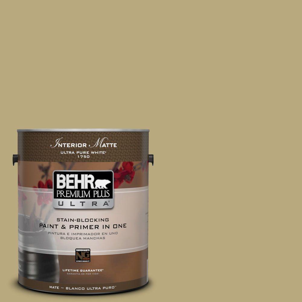 1 gal. #M330-5 Fresh Brew Matte Interior Paint