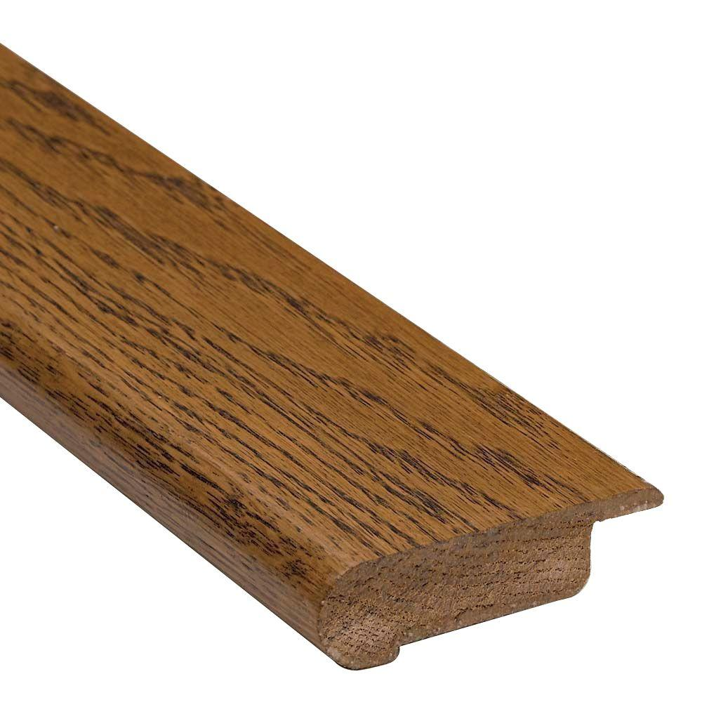 Bruce Oak 13/16 in. Thick x 3 1/8 in. Wide x 78 in. Length Overlap Stair Nose Molding