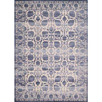 United Weavers Dais Rousseau Blueberry 7 ft. 10 in. x 10 ft. 6 in. Area Rug