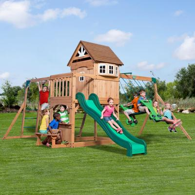 Montpelier All Cedar Swing Set