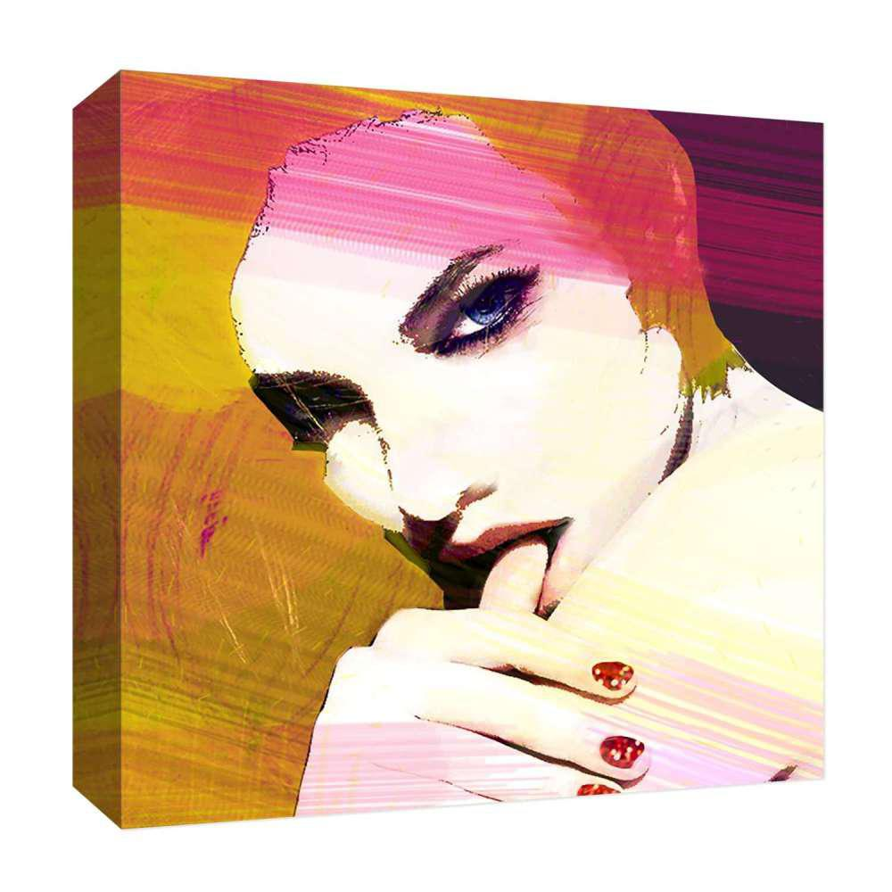 15 in. x 15 in. ''Sexy Girl'' By PTM Images Printed