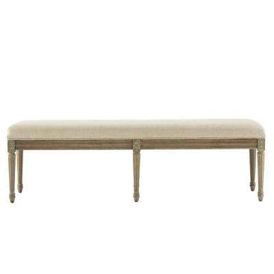 Jacques Antique Brown Bench