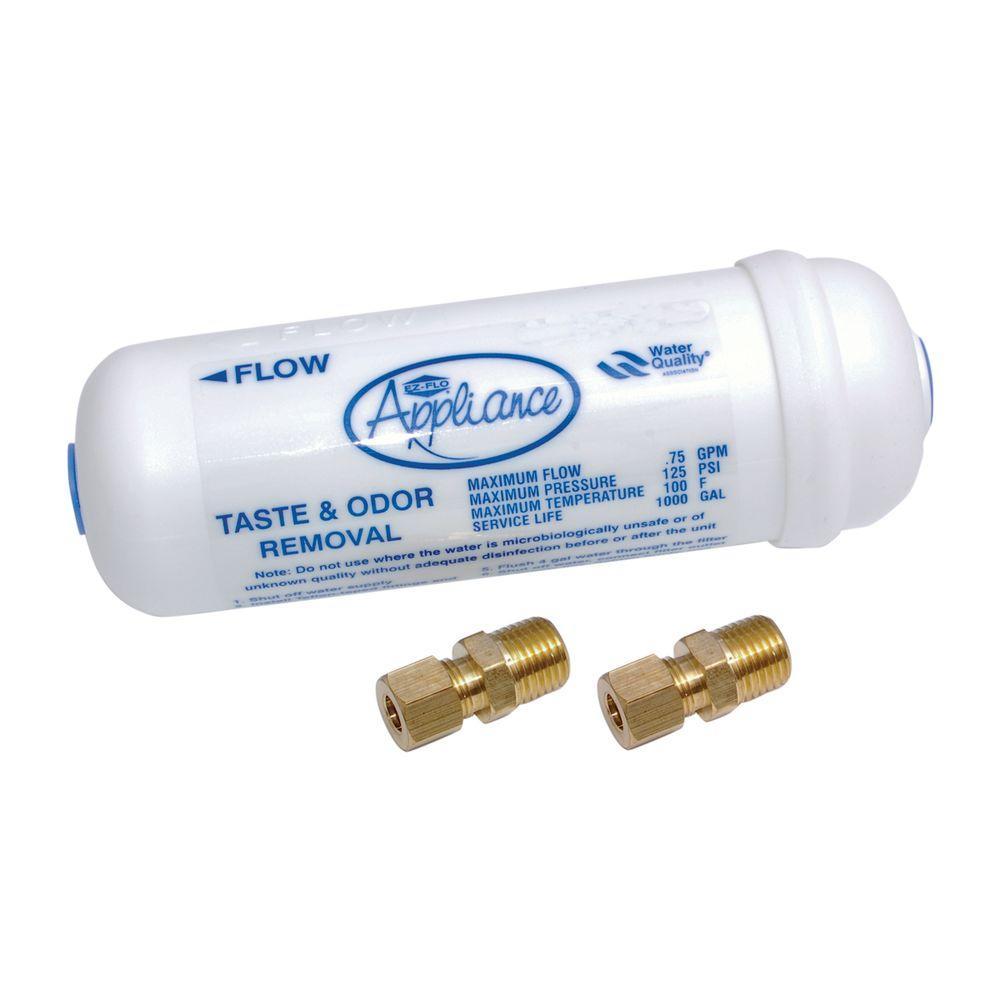 EZ-FLO 6 in. Taste and Odor Inline Water Filter