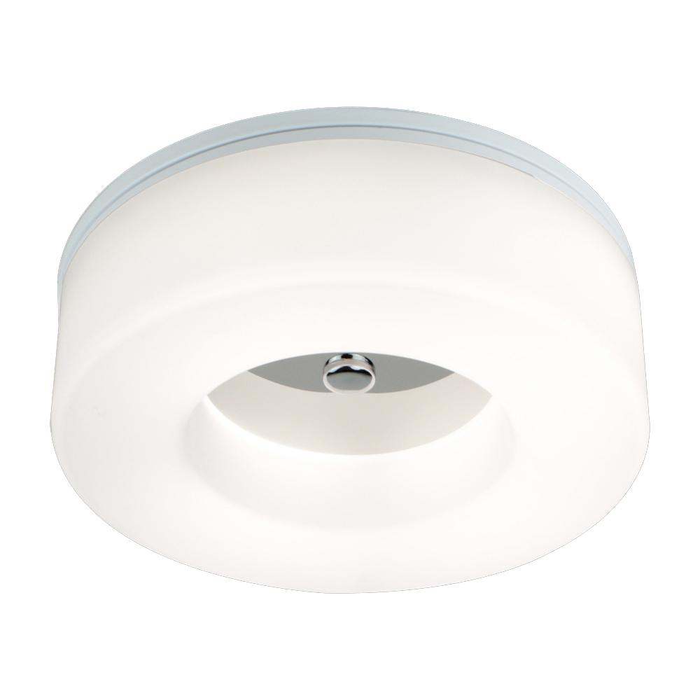 EQLight Balanca 12-Watt White Integrated LED Ceiling Flush Mount