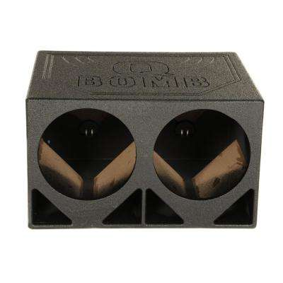12 in. Triangle Ported Car Audio Subwoofer Box Enclosure