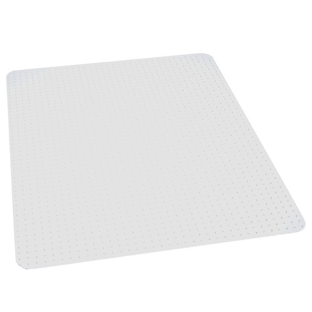 Performance Clear 46 in. x 60 in. Carpet Vinyl Chair Mat