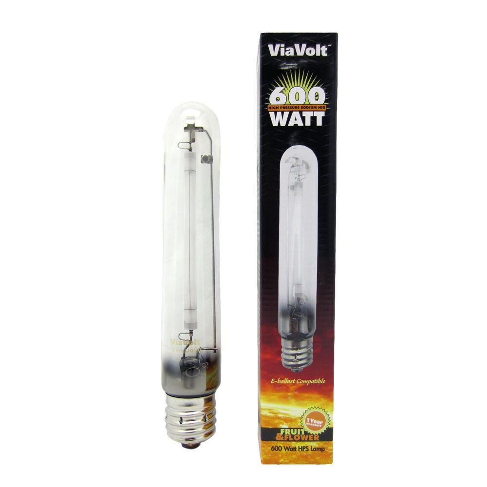 ViaVolt 600-Watt High Pressure Sodium Replacement HID Light Bulb