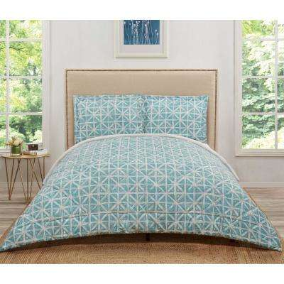 Celine Teal Grey King Comforter Set