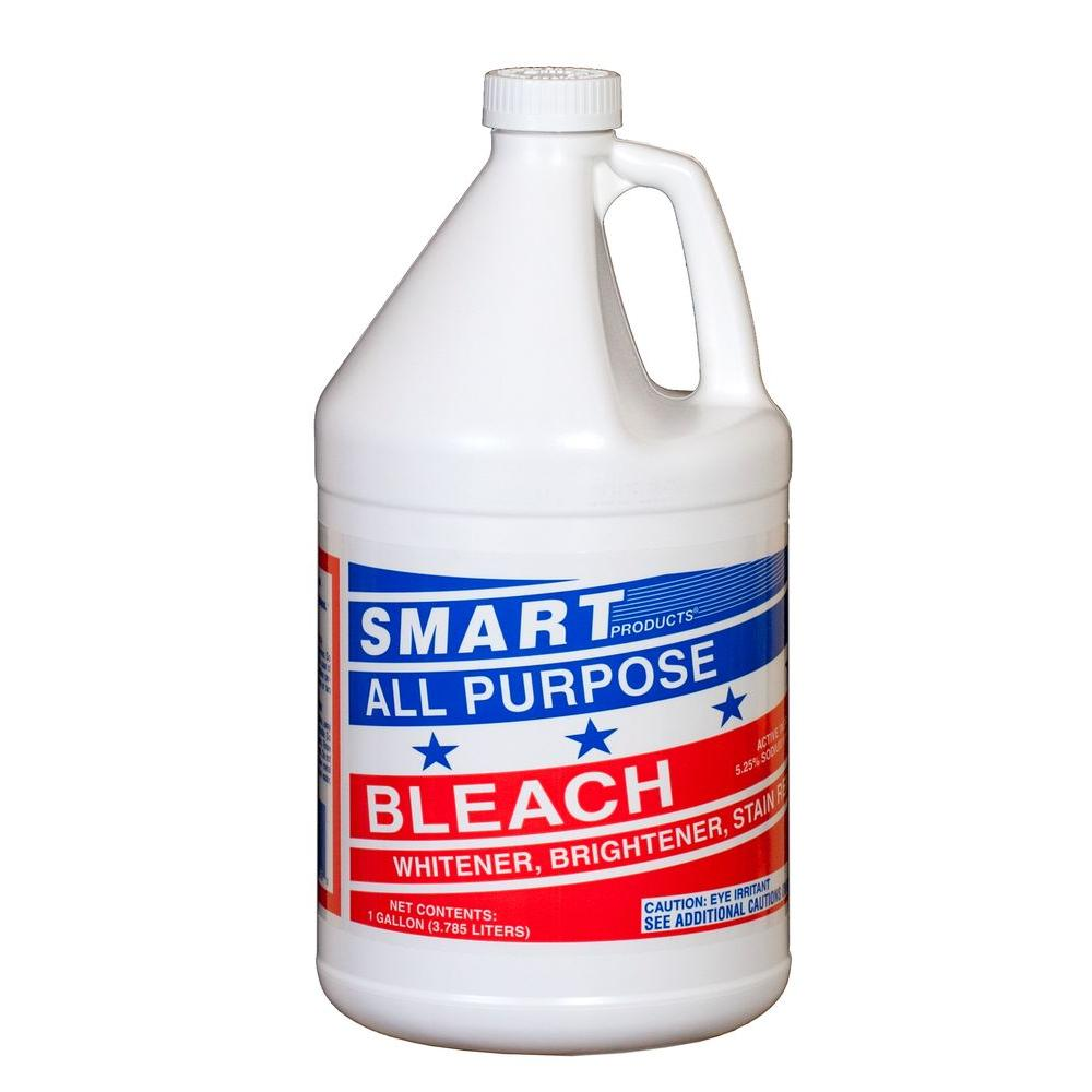 Smart 1 Gal. Household Bleach 5.25% (6-Pack)-2210 HD - The Home Depot