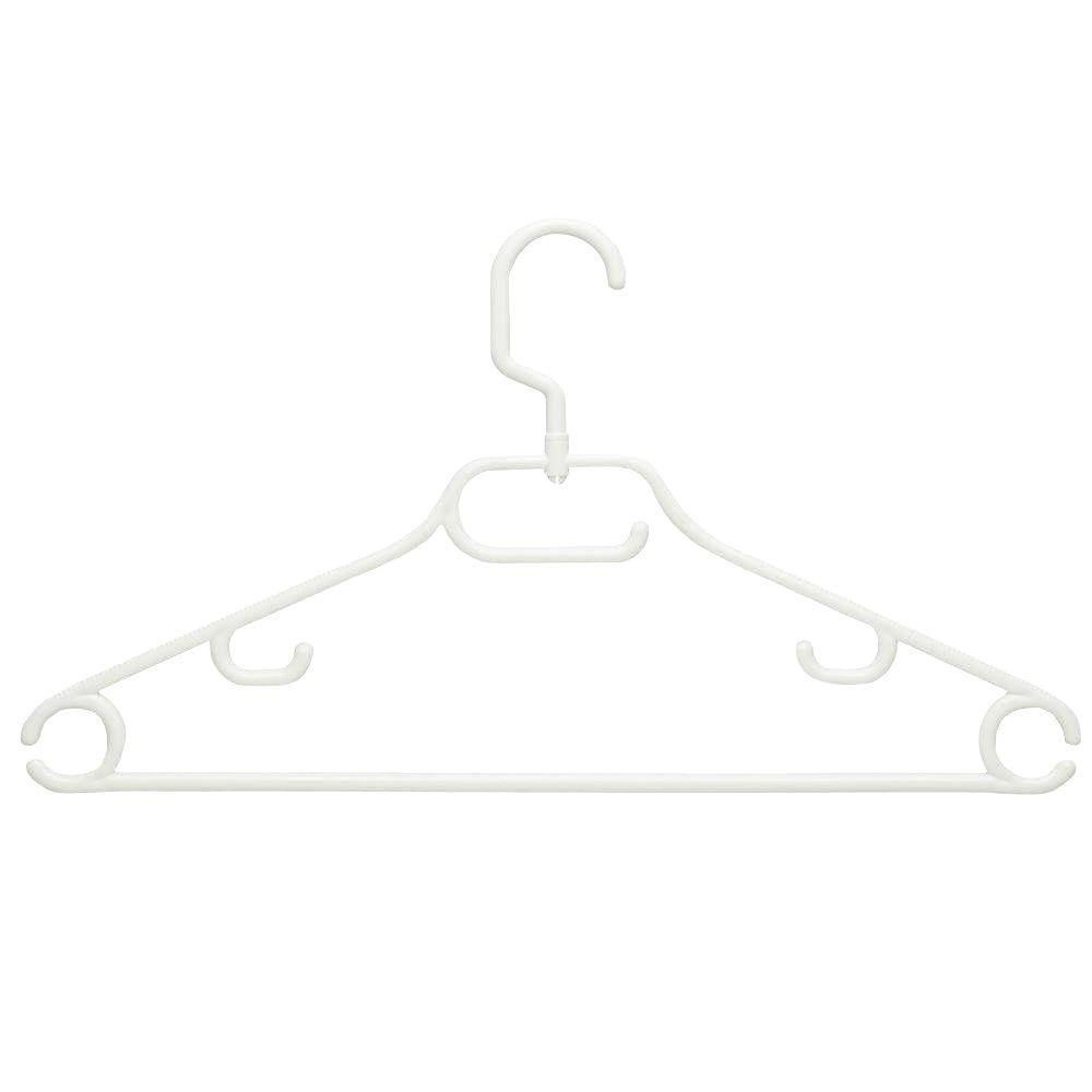 52g Swivel Hanger with Dress Notch (18-Pack)